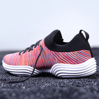 2018 New Breathable Mesh Running Shoes For Men Summer Colorful Male Walking Shoes Lightweight Sock Dart