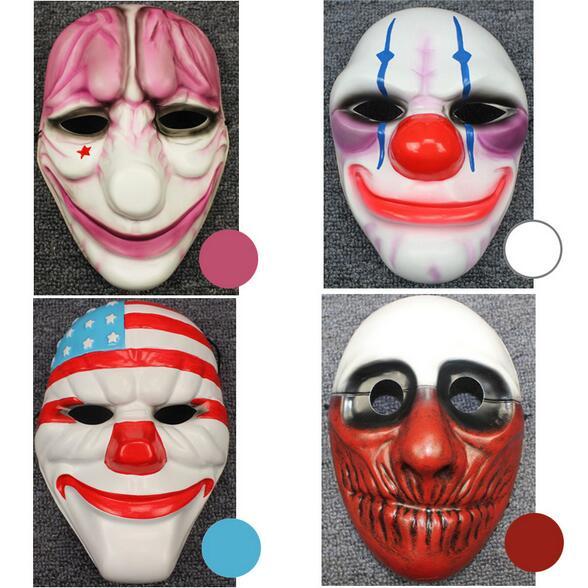 Игры payday2 Даллас/Волк/Цепи/Хьюстон маска ПВХ 21x17 см маска косплей аксессуары Kylo Ren маска poc шлем Deathstroke маска