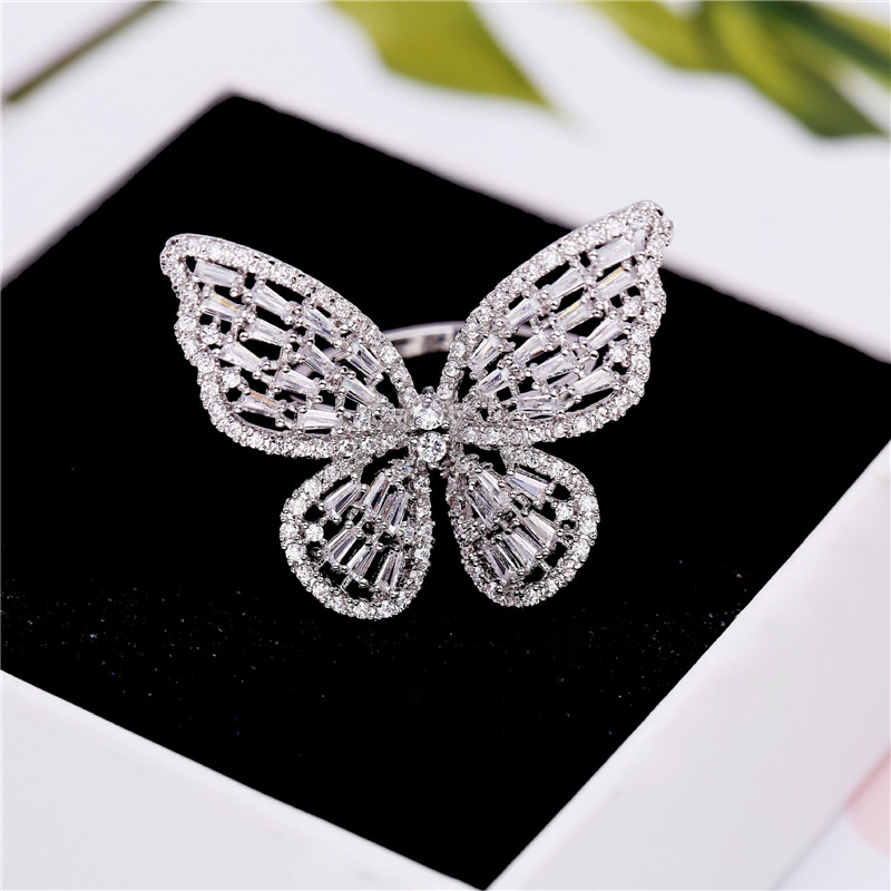 Engagement Ring Butterfly Design