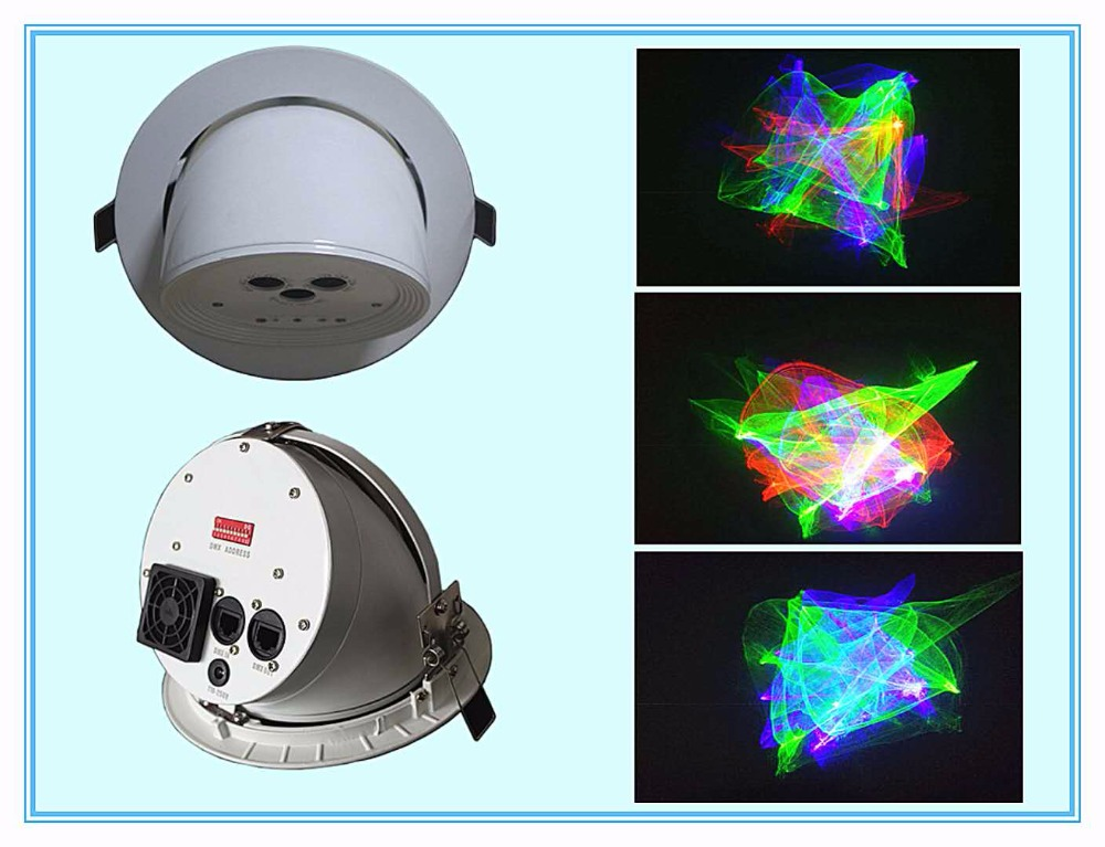 New Arrival 250MW RGB KTV Super Magic Mini Laser Light Disco Laser Show System For Christmas Event Party Ceiling Laser