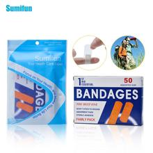 50pcs/Box Waterproof First Aid Bandage Hemostatic Medical Disposable Band-Aid With Sterile Gauze Pad  Z13401