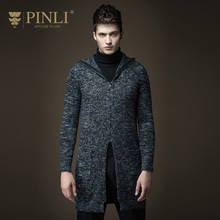 2017 Hot Sale Sudaderas Sweater Men Pinli Pinly New Spring In The Long Section Of Mens Knit Cardigan Sweater Coat B163310218