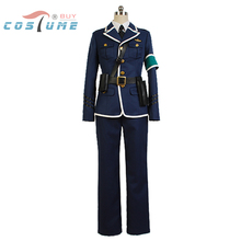 RAIL WARS! Naoto Takayama Uniform Shirt Jacket Pants Tie For Men Anime Halloween Cosplay Costume Custom Made