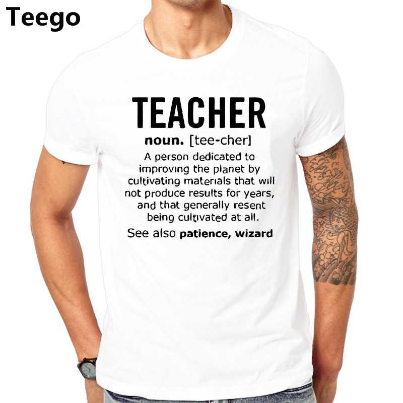 7a5ecc040 Teacher Noun Job Mens Funny T Shirt Christmas Gift Tt shirt Humour Tt shirt  O-