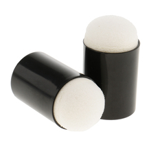 2pcs Sponge Finger Daubers Painting Drawing Art and Crafts Finger Painting Tools Ink Chalk Staining Altering Tools