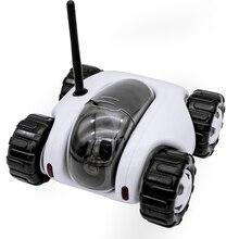Новый Cloud Companion Танк Робот Автомобиля Камеры Wi-Fi Интернет P2P RC ночного видения Ребенка Монитор Камеры беспроводной сети дистанционного управления