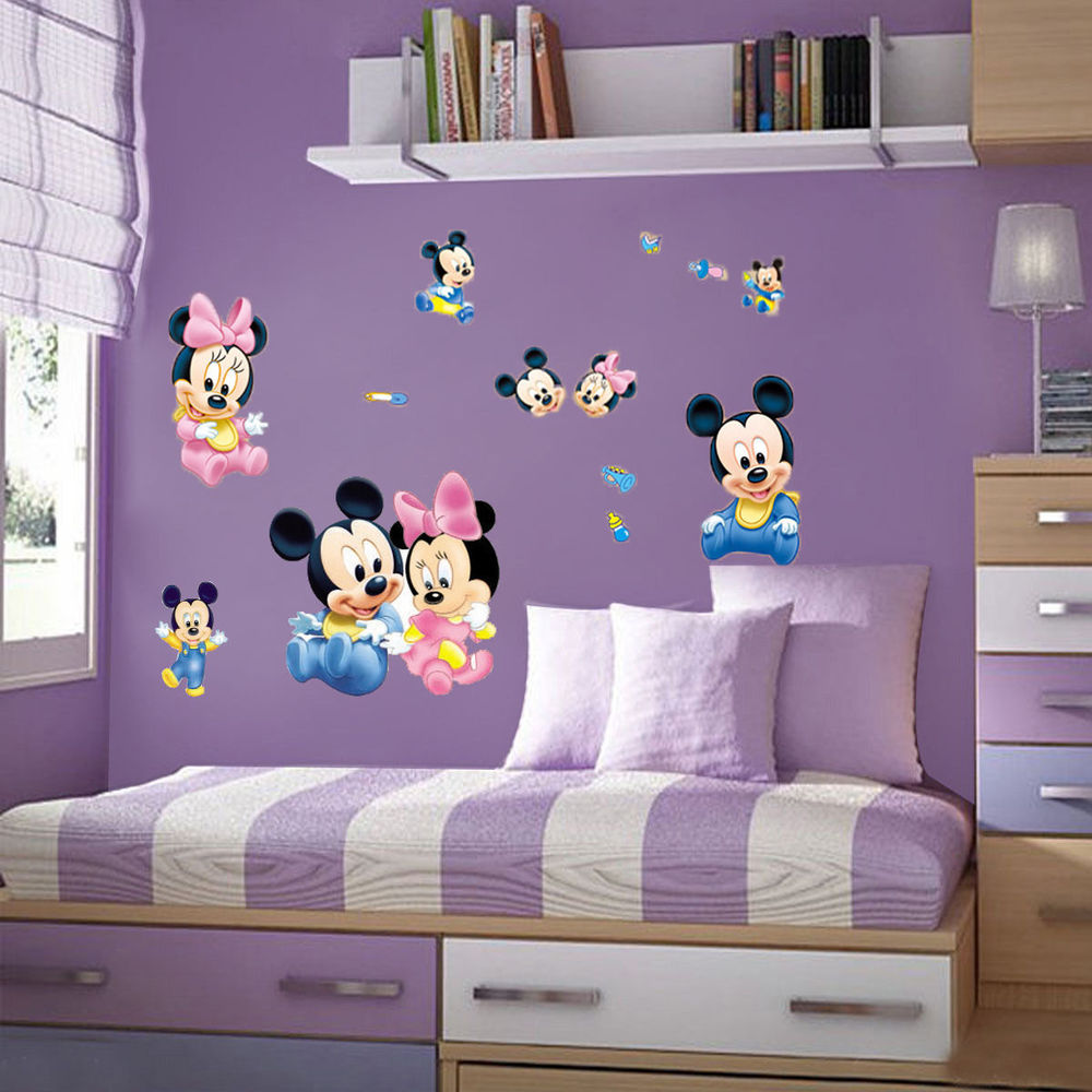Mickey Mouse Bedroom Furniture Popular Mickey Room Decor Buy Cheap Mickey Room Decor Lots From