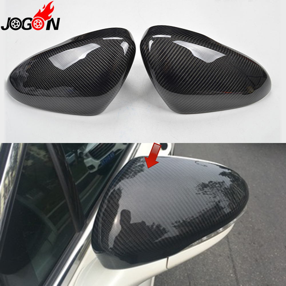 Carbon Fiber For Ford Fusion Mondeo 2013 2014 2015 2016 2017 Car Side Rear View Rearview Back Mirror Cover Replacement f10 side wing rearview mirror cover caps for bmw sedan 11 13 carbon fiber