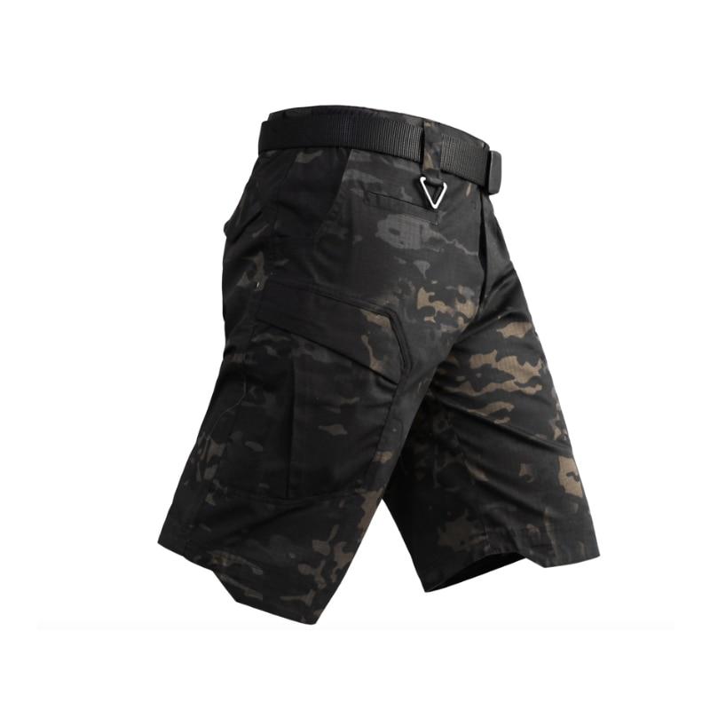 2019 NEW MCBK Men Tactical Shorts Multicam Black Military Shorts Ripstop MCBK Short Pants