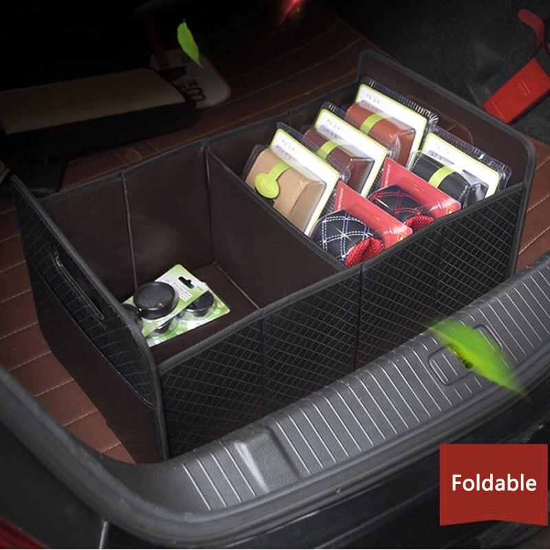 Organisateur de coffre pliant coffre de voiture mallette de rangement boîte de rangement de voiture multifonction coffre de voiture sac organisateur accessoires d'intérieur Auto