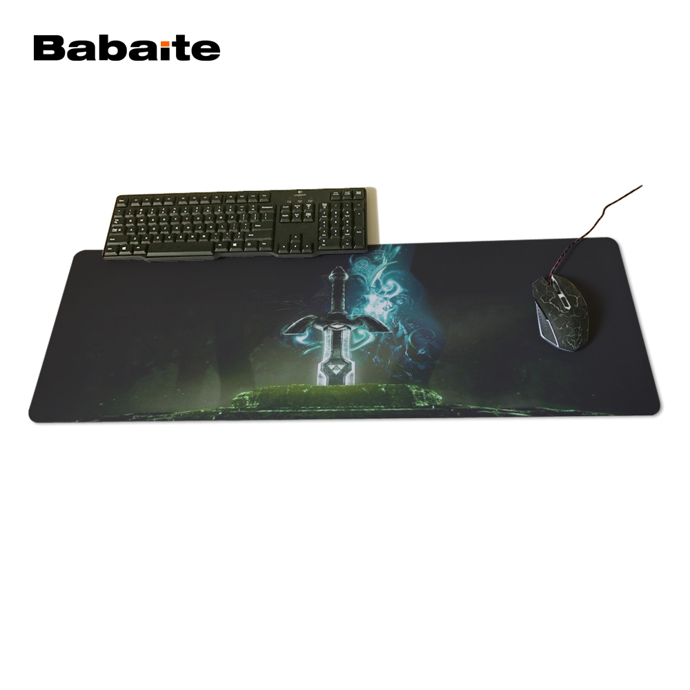 Babaite Wholesale And Retail Large Rubber Mousepad Style Gaming Mouse Pad The Legend of Zelda Eagles