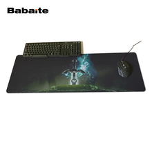 Babaite Wholesale And Retail Large Rubber Mousepad Style Gaming Mouse Pad The Legend of Zelda Eagles Sword Customized Mouse Pad
