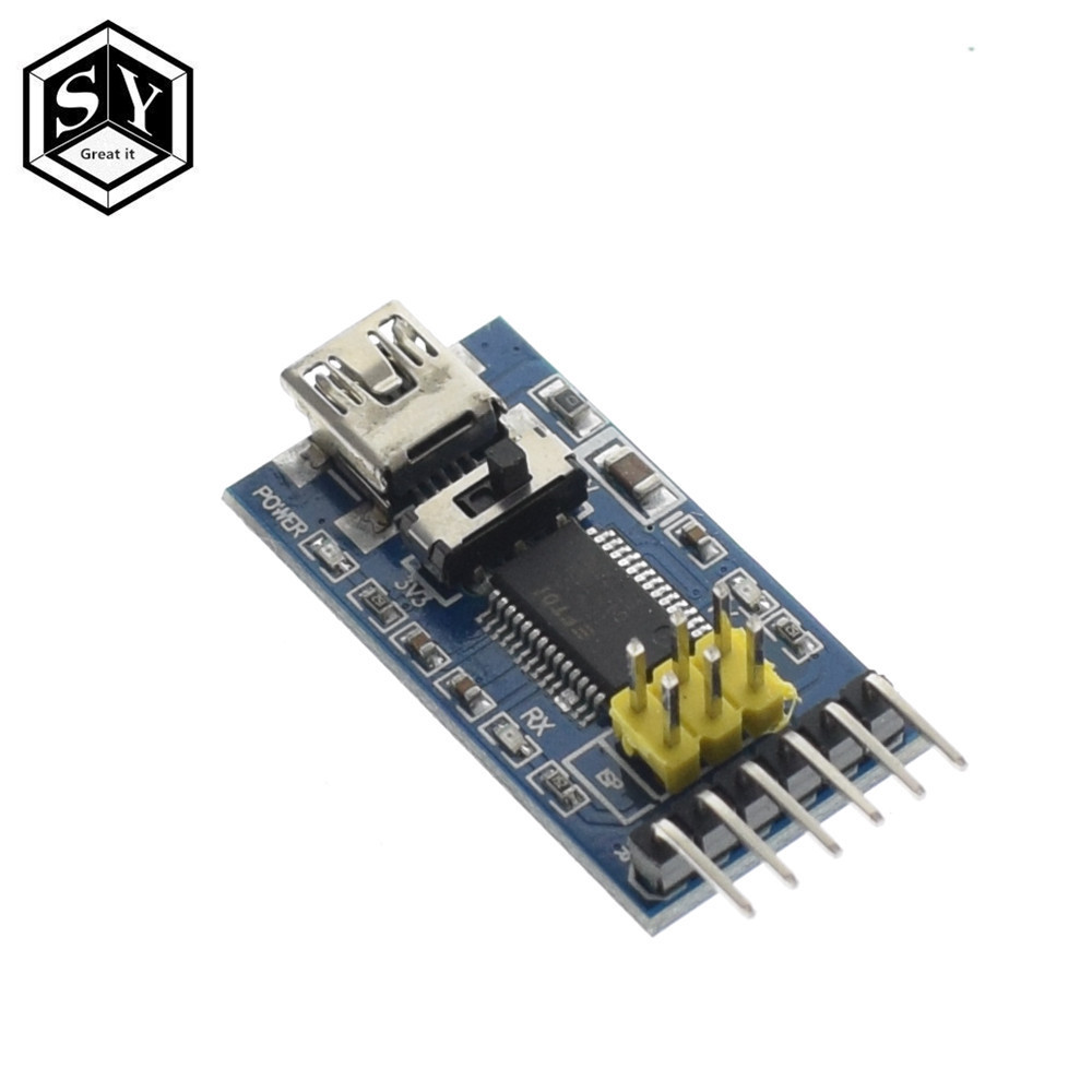 for Computer Accessory Kit D DOLITY USB to RS-232 Adapter Board TTL Converter Moudle