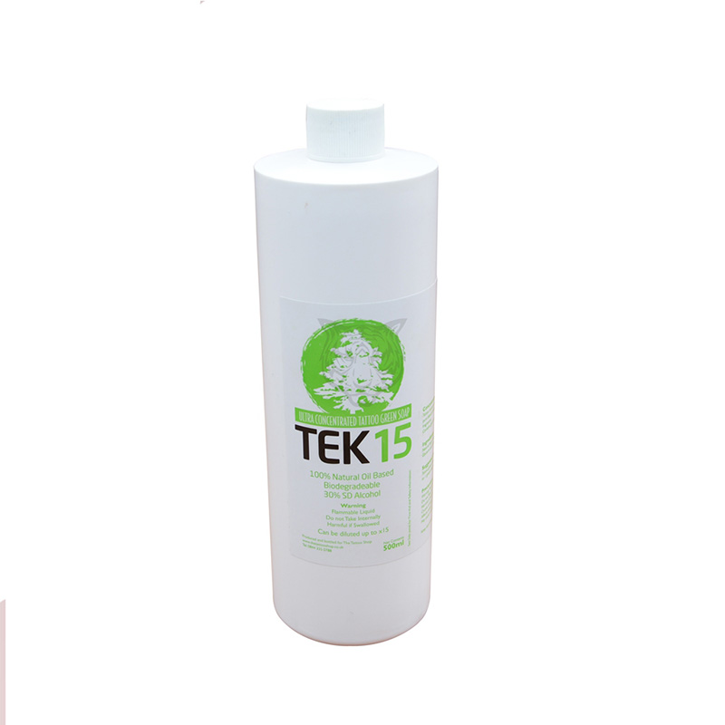 Yilong 500ml Cleaning Water Skin Wash Stencil Green Soap Tattoo