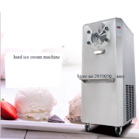 Commercial hard ice cream machine ice cream vending machine