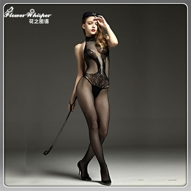 Backless Sexy Underwear Women's Body Stocking Crotchless