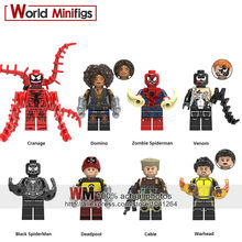 Single Sale Legoings Custom She-Deadpool Gallery Lady Deadpool Carnage Super Hero Building Blocks Christmas Toy for Children(China)