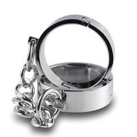 Sexy Erotic Accessories with Heavy Stainless Steel Metal Handcuffs for Role Play Slave BDSM Bondage Sex Toys for Couples