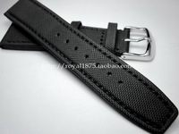 2019 Nato Strap Canvas Nylon Watchbands For Omega IWC 20mm 21mm 22mm Black High Qualiyt Watch Band Bracelet With Pin Buckle