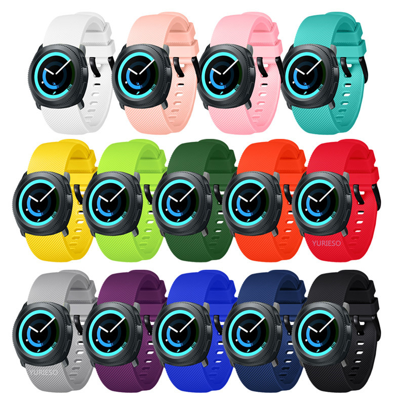 Soft Silicone watch band For Samsung Gear Sport 20mm Replacement Wristband Strap for Samsung Gear S2