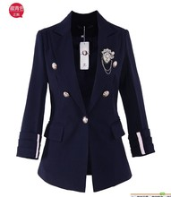 2017 new arrival autumn all-match women's blazer outerwear women's short design autumn female blazer