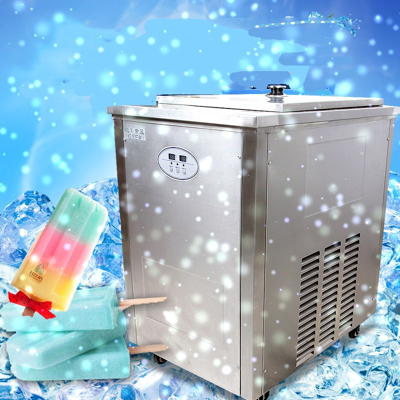 New arrival 220V/50HZ Stainless Steel Commercial Popsicle Machine Ice Cream Lolly Stick Machine Hard Ice cream Maker стоимость