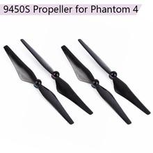 4 adet 9.4*5 inç sahne DJI Phantom 4 9450S karbon Fiber pervaneler alüminyum alaşımlı koltuk ile quadcopter bıçakları aksesuarları