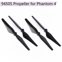 4Pc 9.4*5 inch Props for DJI Phantom 4 9450S Carbon Fiber Propellers with Aluminum Alloy Seat Quadcopter Blades Accessories