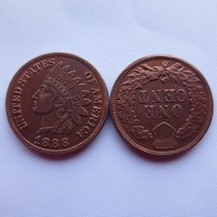 1888   ONE CENT - INDIAN HEAD CENTS copy coin/Free shipping