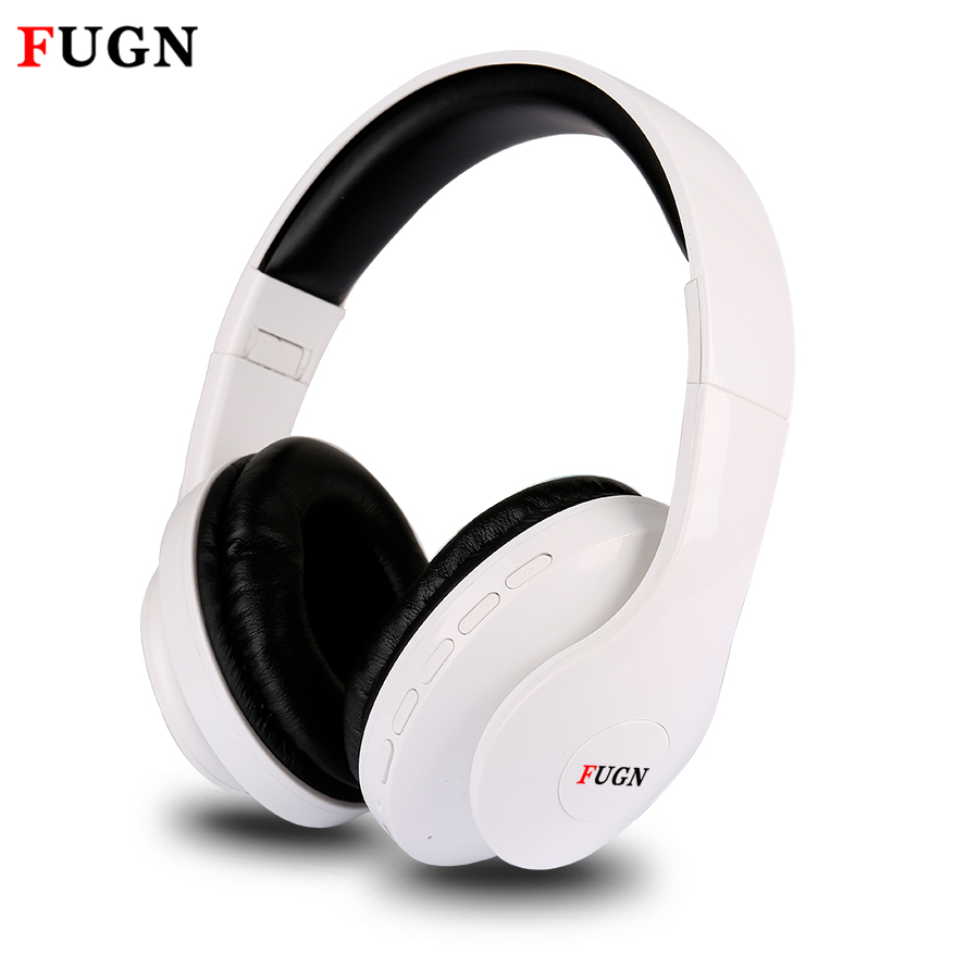 FUGN Bluetooth Headset for Gamer Gaming 3D Stereo Wireless Earphone with Mic Micro SD/TF FM Radio Wireless Gamer Headset casque new dacom carkit mini bluetooth headset wireless earphone mic with usb car charger for iphone airpods android huawei smartphone