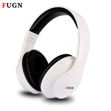 FUGN Bluetooth Headset for Gamer Gaming 3D Stereo Wireless Earphone with Mic Micro SD/TF FM Radio Wireless Gamer Headset casque