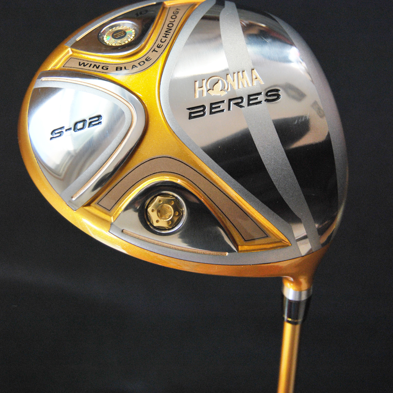Подробнее о New mens HONMA Golf driver S-02 Golf Clubs 9 or 10  loft Graphite Golf shaft driver clubs Golf headcover Free shipping new golf clubs honma is 02 golf hybrids wood or 16 22 25 1pcs lot graphite golf shaft and clubs grips free shipping