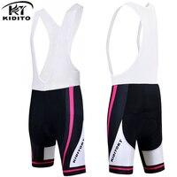 KIDITOKT Women Breathable Bicycle Shorts 100 Lycra Cycling Bib Pants Anti Sweat Quick Dry Durable Bike