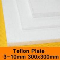 PTFE Sheet Teflon Plate Teflon Board Block Polytef Polytetrafluoroethylene Plate 3 To 10mm Good Working Temperature