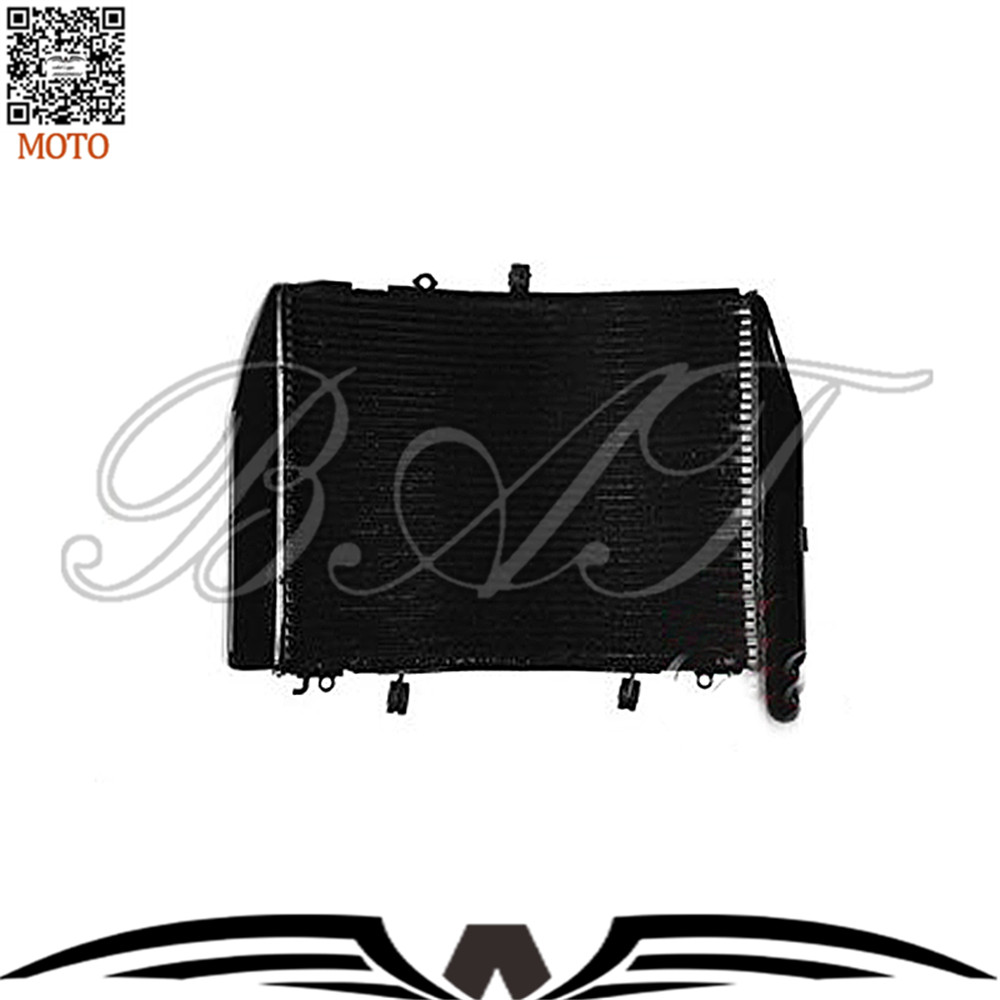Motorbike Radiator For HONDA CBR600RR 2007 2008 2009 2010 2011 Motorcycle Parts Aluminium Cooling Cooler Radiator kemimoto 2007 2014 cbr 600 rr aluminum radiator grille grills guard cover for honda cbr600rr 2007 2008 2009 2010 11 2012 13 2014