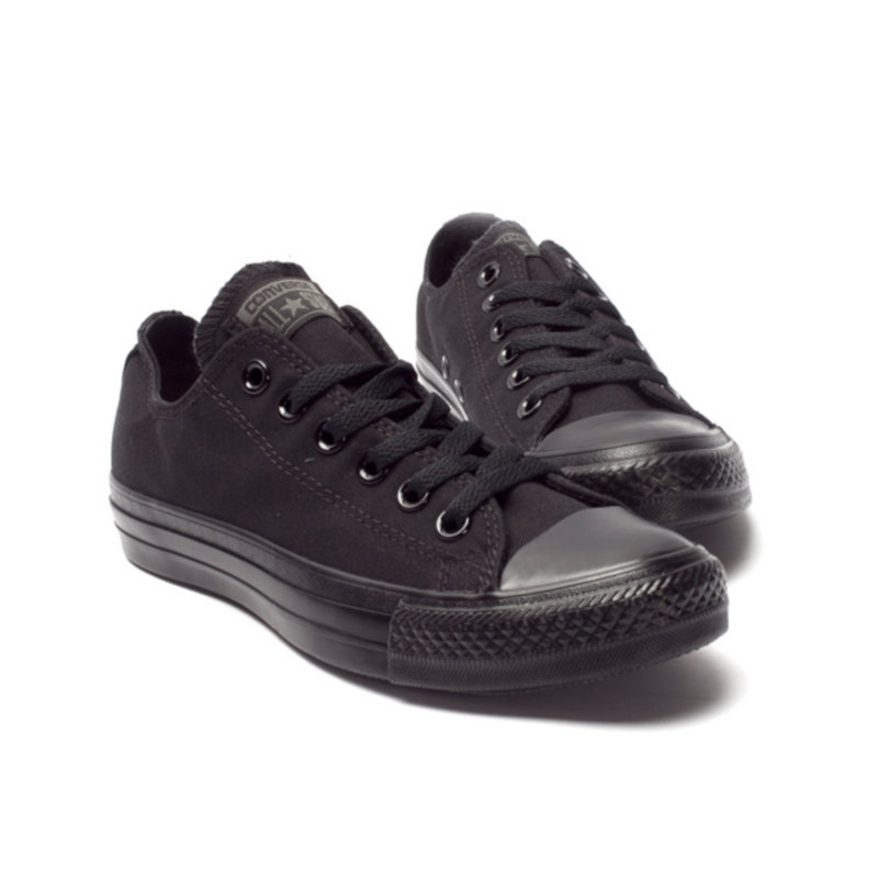 7596e23b3a36 Original Converse all star men s and women s sneakers for men women canvas  shoes all black low classic Skateboarding Shoes-in Skateboarding from  Sports ...