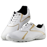 Women Golf Shoes Breathable Microfiber Leather Waterproof Sport Shoes Nail Anti-slip Good Grip Resistant Golf Shoes