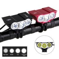 Solarstorm X3 Bicycle Light 8000 Lumens 4 Mode XM L T6 LED Cycling Front Light Bike