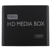 Mini Media Player 1080P Mini HDD Media Box TV box Video Multimedia Player Full HD With SD MMC Card Reader 100Mpbs AU EU US Plug