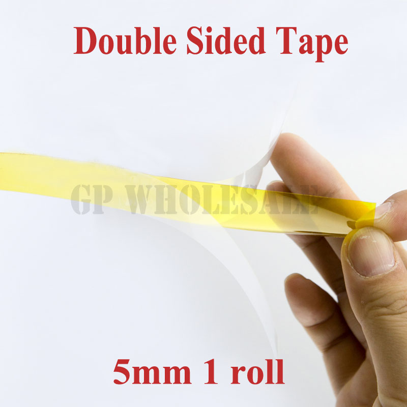 Free shipping 5mm Brown Double Faced Towers Glue High Temperature Polyimide Double-sided Adhesive Tape barchester towers