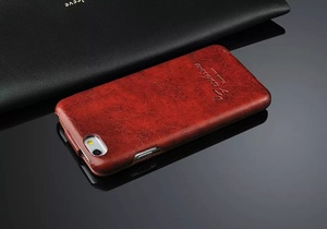 Image 5 - Genuine Leather Vertical Flip Cover Case for Apple iPhone 6 6S Fashion Coque Brand Original Fundas with Gift Screen Protector