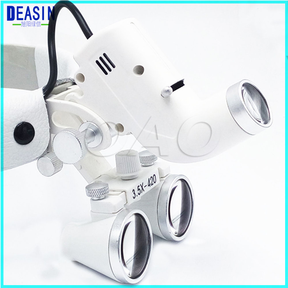 TOP Quality 3.5X Dental Loupes Surgical For Ent Medica Operation Lamp Doctor's Surgery Loupe Medical Magnifier Dental Loupes