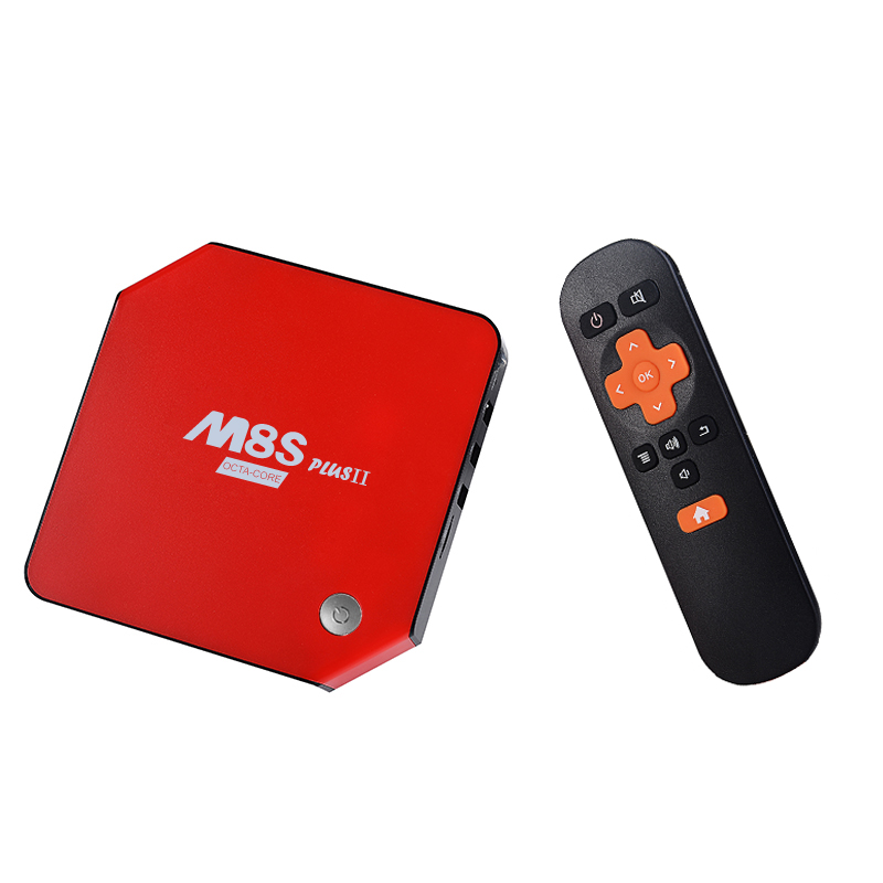 M8S PLUS II font b Android b font 6 0 Amlogic S912 Octa Core TV Box