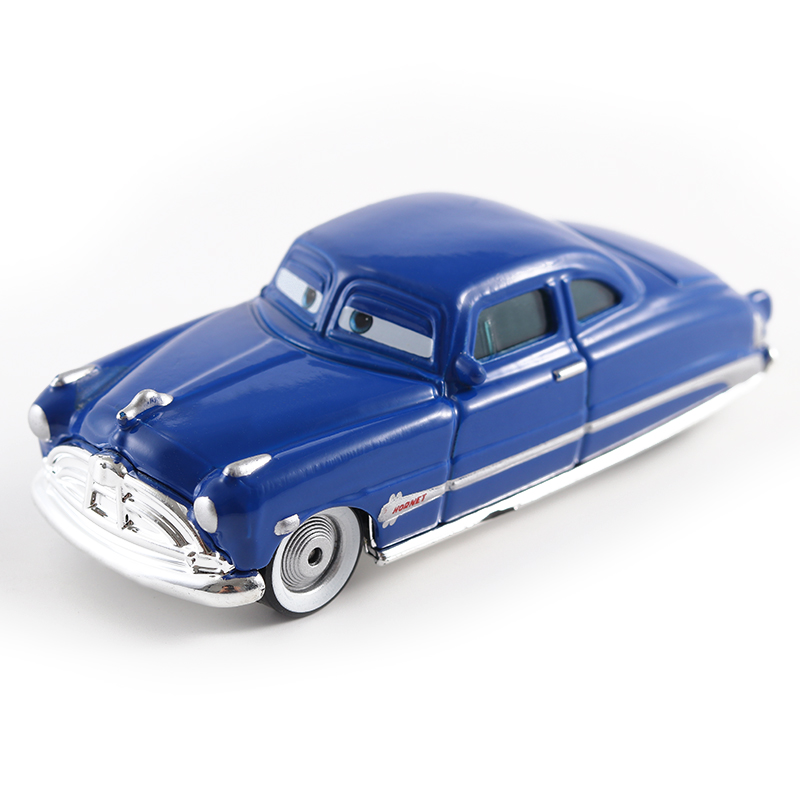 Cars Disney Pixar Cars Doc Hudson Metal Diecast Toy Car 1:55 Loose Brand New In Stock Disney Cars2 And Cars3 Free Shipping