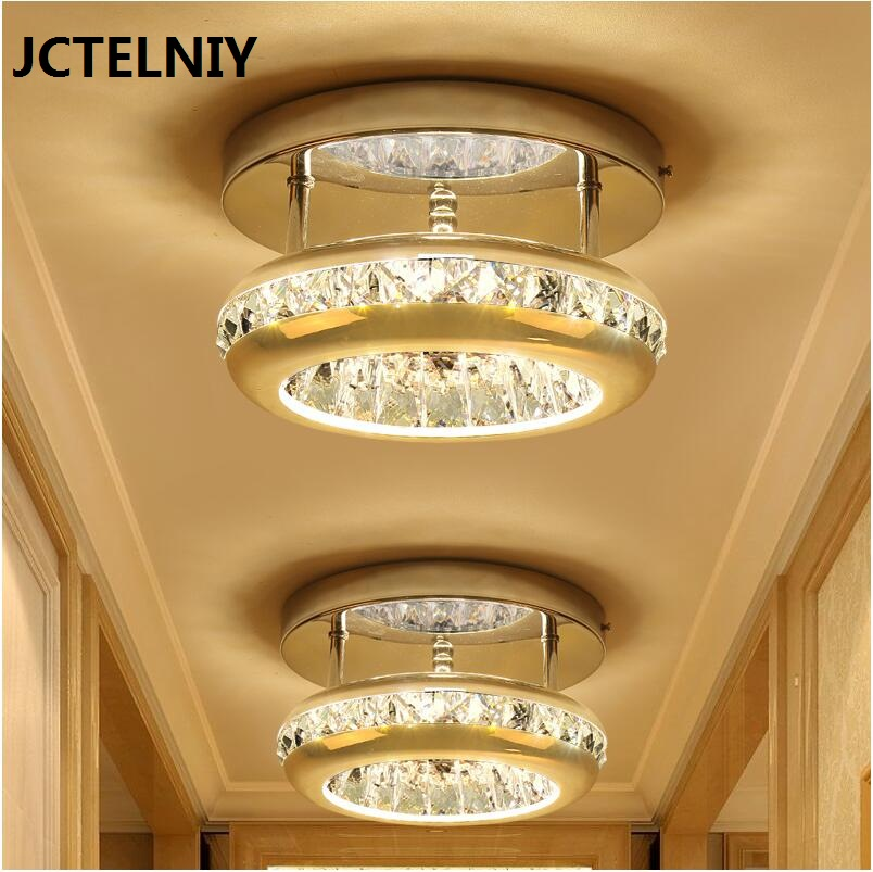 Crystal LED Ceiling Lights Aisle lights corridor Entrance hall lamp Ceiling Living room lamp lighting LED Ceiling Lights bright colorful led lamp installed inside the entrance hall light corridor lamp ceiling lamp lamp stunning