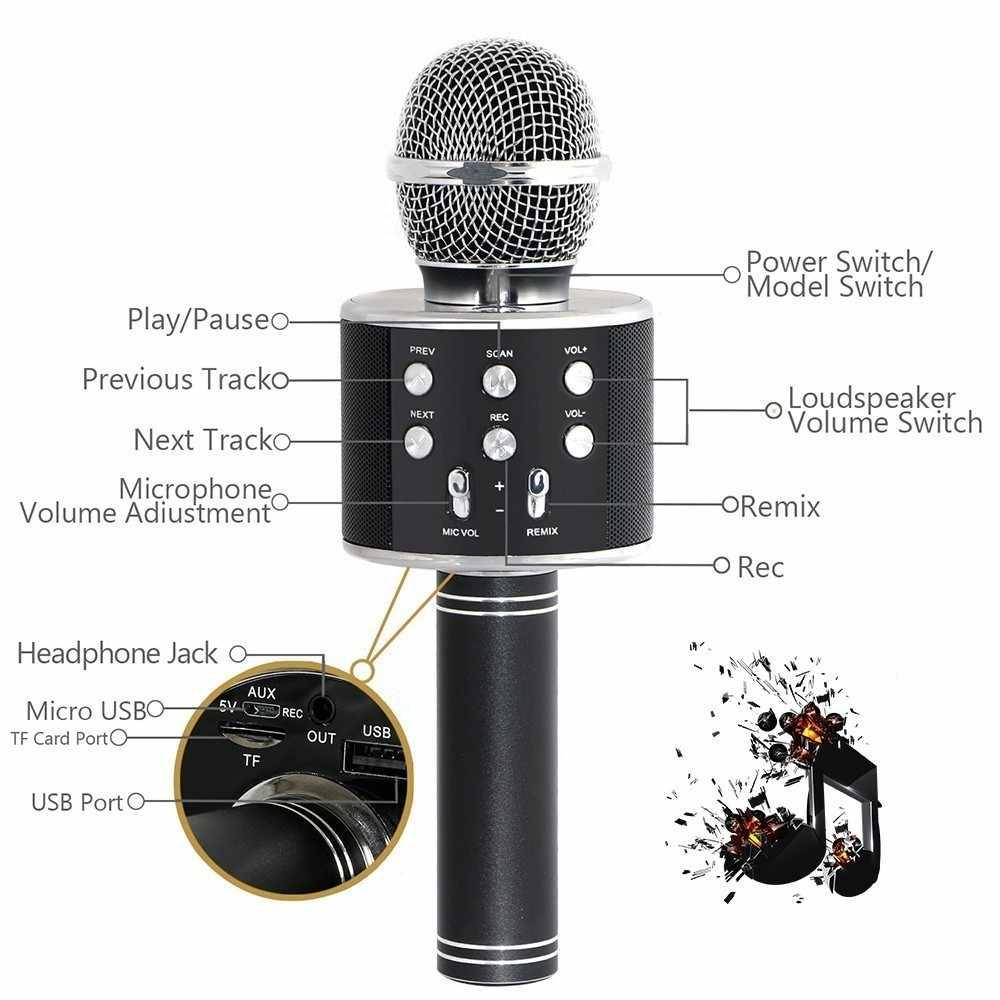 100% con Bluetooth y micrófono, altavoz inalámbrico con 12 horas de autonomía, PARA Karaoke, PC y teléfono móvil, 50% de descuento, disponible en España