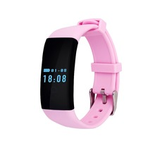 SURMOS Bluetooth Smartwatch D21 Wristband Bracelet Band Heart Rate Smartband Activity Tracker Fitness for IOS Android
