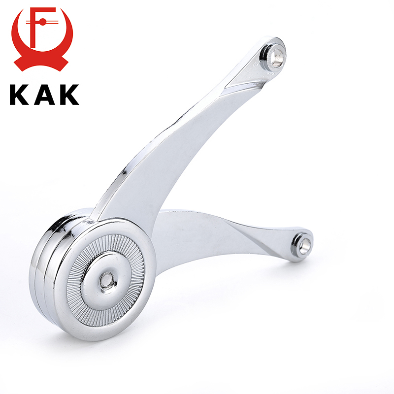 KAK Hydraulic Randomly Stop Hinges Kitchen Cabinet Door Adjustable Polish Hinge Furniture Lift Up Flap Stay Support Hardware In From Home