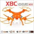 Syma X8C X8 2.4 G 4ch 6 Axis con 2MP cámara gran angular HD RC Quadcopter RTF helicóptero del abejón Go Pro aplicable VS DJI V303 CX-30