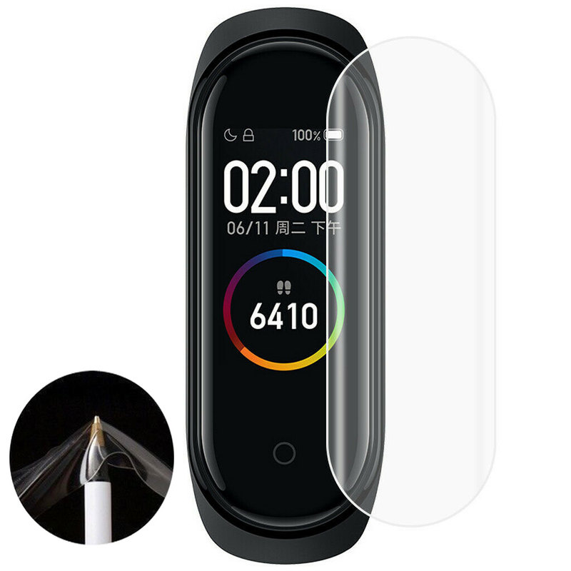 For Xiaomi Mi Band 4 Screen Protector Film Soft TPU Hydrogel Smart Watch Wristband Protective Films